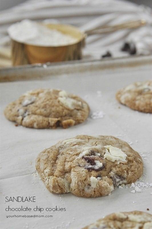 Sandlake chocolate chip cookie