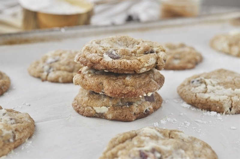 Sandlake Cookies spiced chocolate chip cookie