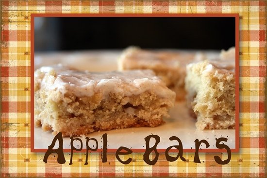 The Cookie Jar – Apple Bars