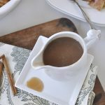 You are going to want to pour this cinnamon syrup on everything! It's that good!!