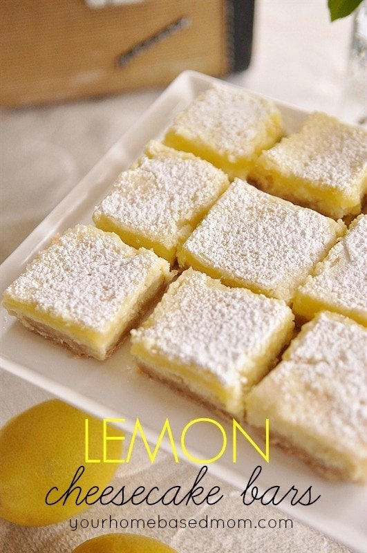 lemon creamcheese bars