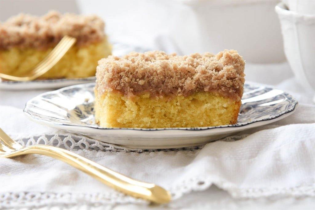 Copycat Starbucks Coffee Cake Recipe