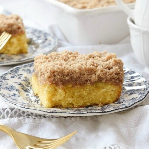 Copycat Starbucks Coffee Cake