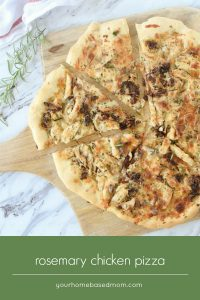 Rosemary Chicken Pizza