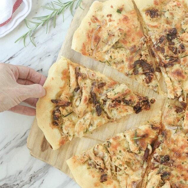 Rosemary Chicken Pizza