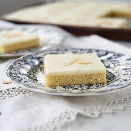 Texas Almond Sheet Cake