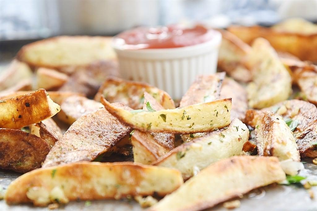 Mariner's Rally Fries - Garlic Fries