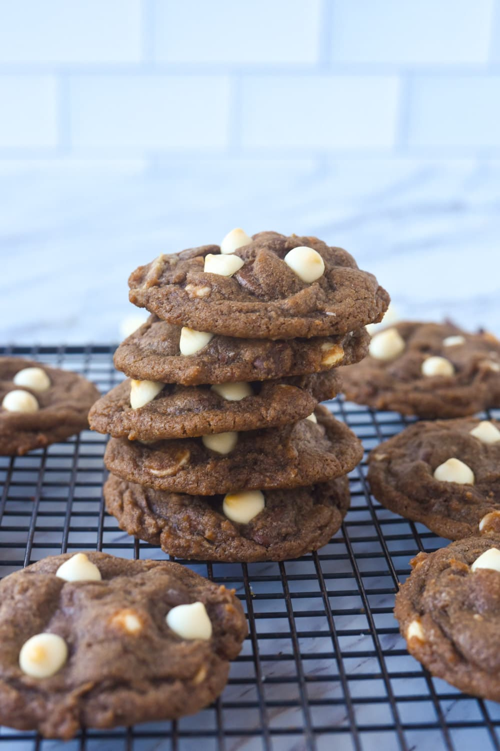pile of hot cocoa cookies