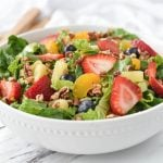 Srawberry Poppy seed Salad
