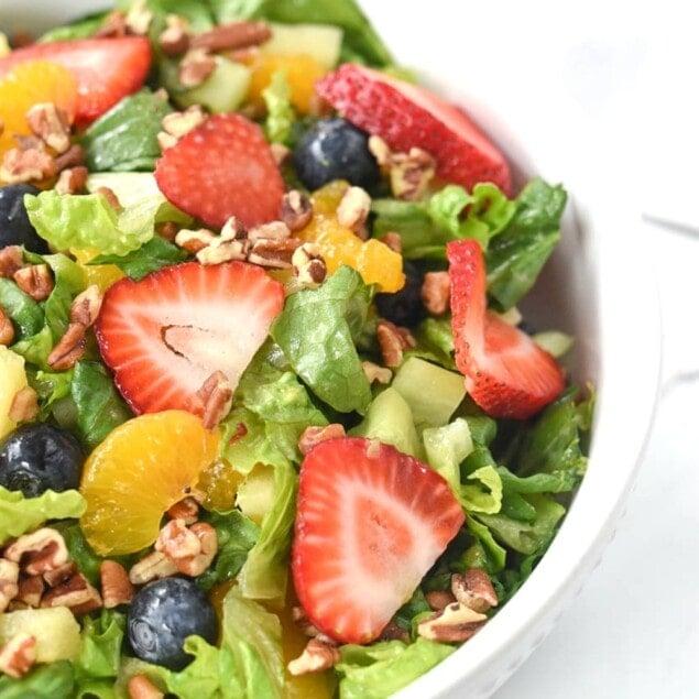 Srawberry Poppy seed Salad