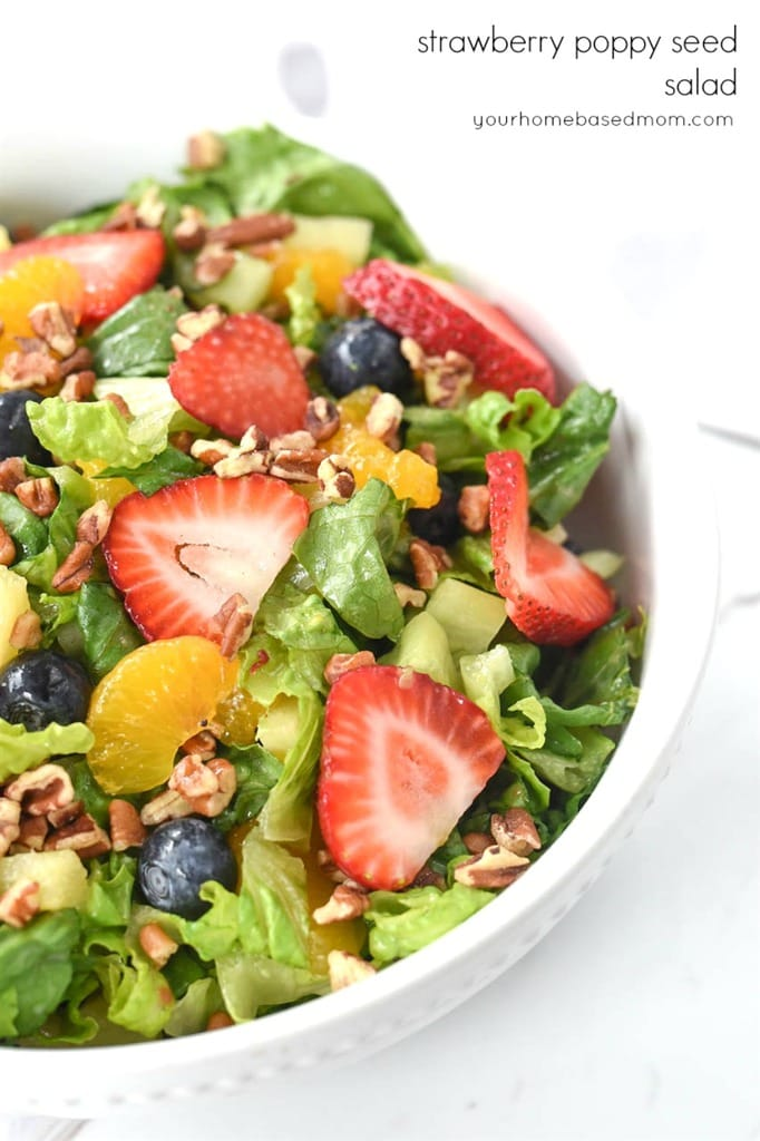 Srawberry Poppyseed Salad