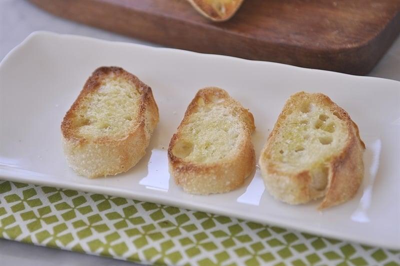 Bread Toast for Bruschetta