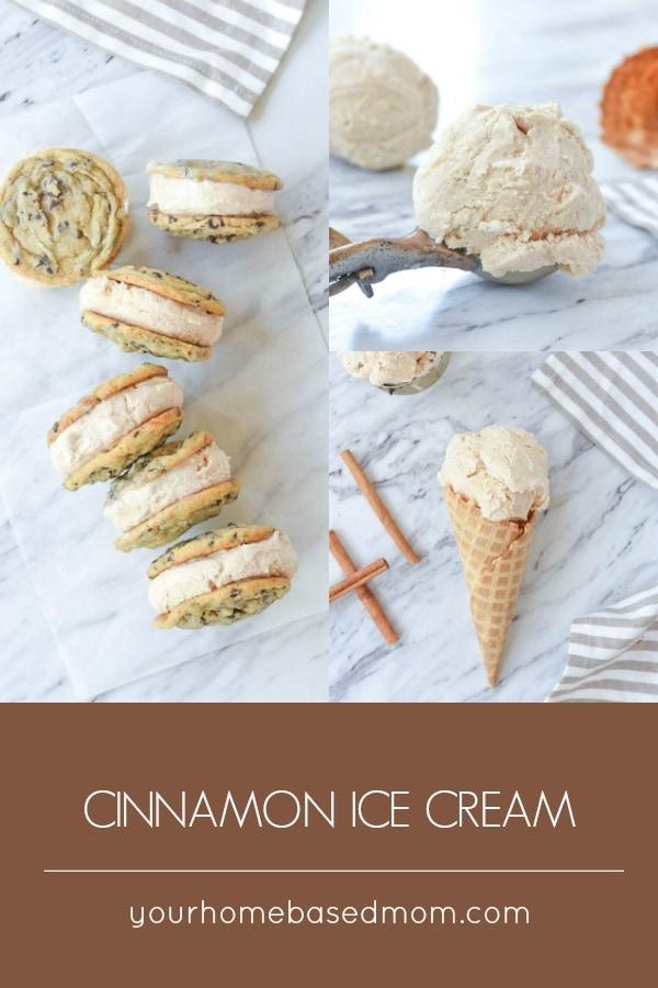 Cinnamon Ice Cream Cone