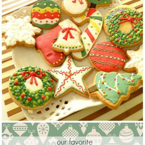 A list of our favorite christmas cookies