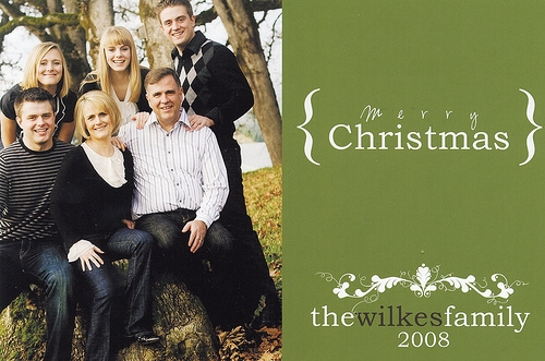 Holiday Greetings from our house to yours!