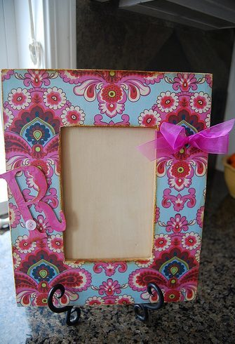 Getting Crafty – Picture Frames