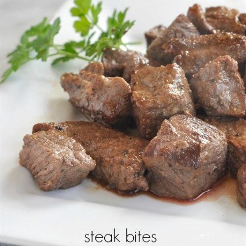 Steak Bites Recipe
