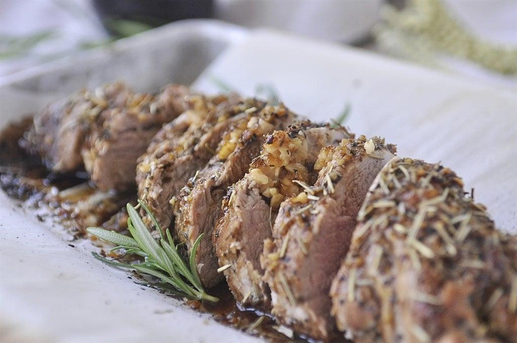 Balsamic Herbed Pork Tenderloin