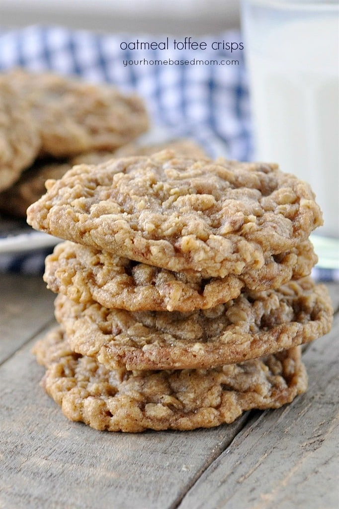 Oatmeal Toffee Cookie Recipe