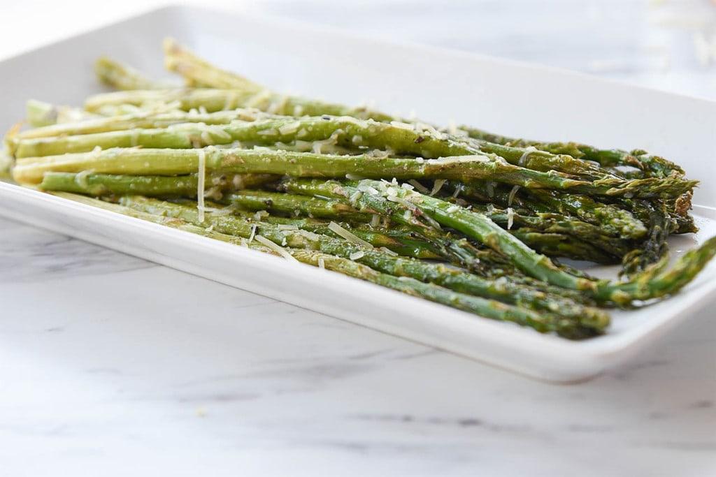 Roasted Asparagus Parmesan