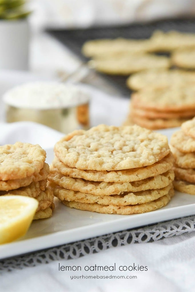 Lemon Oatmeal Cookies Recipes From Your Homebased Mom