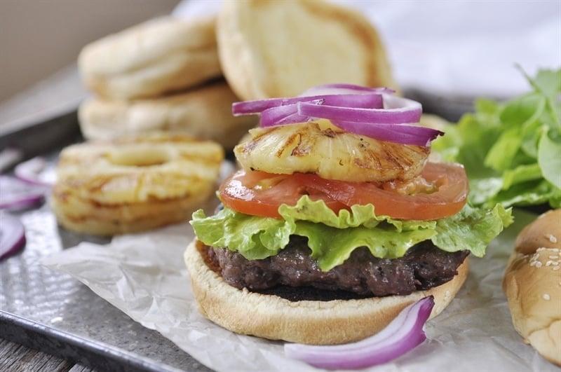 Teriyaki Hamburgers