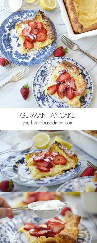 German Pancakes volcano pancakes puff up pancakes