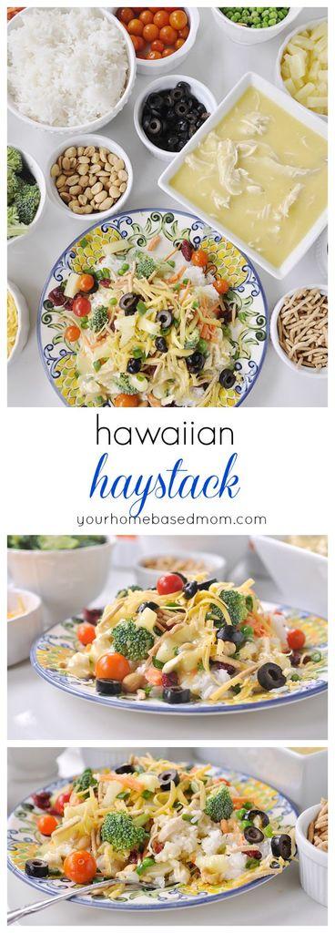 The whole family will love Hawaiian Haystacks.
