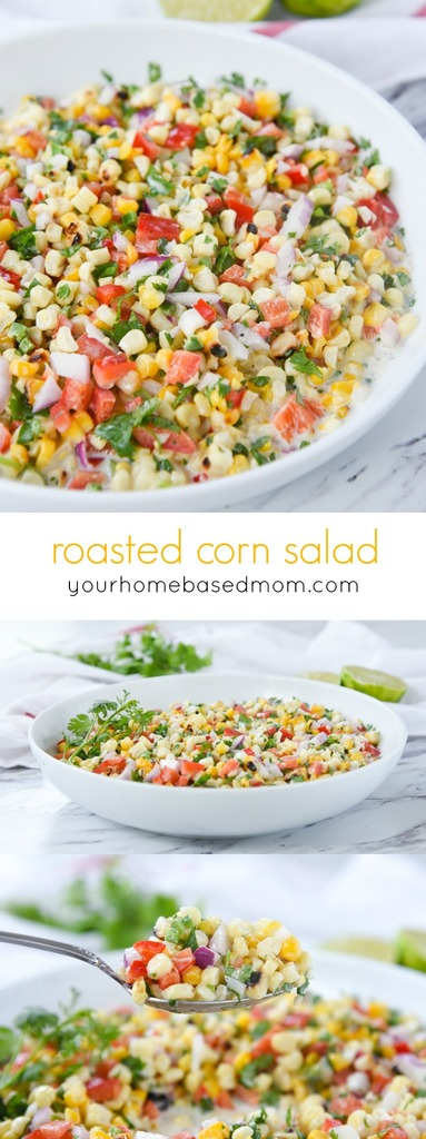 Roasted Corn Salad from Your Homebased Mom