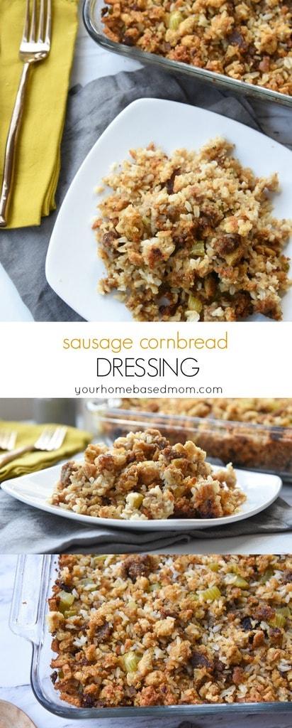 Sausage Cornbread Dressing