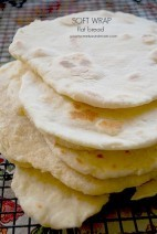 Soft Wrap Flat Bread