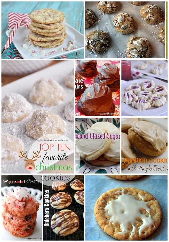 Top Ten favorite Christmas cookies