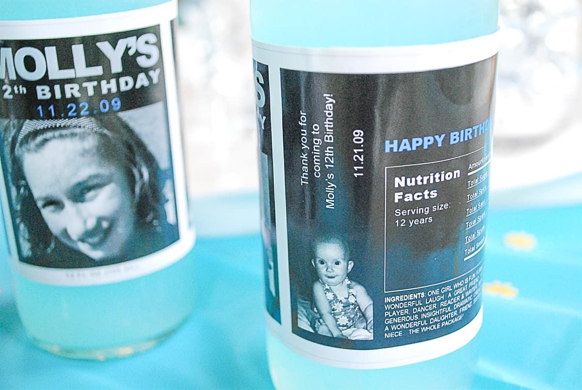 Soda Bottle personalized