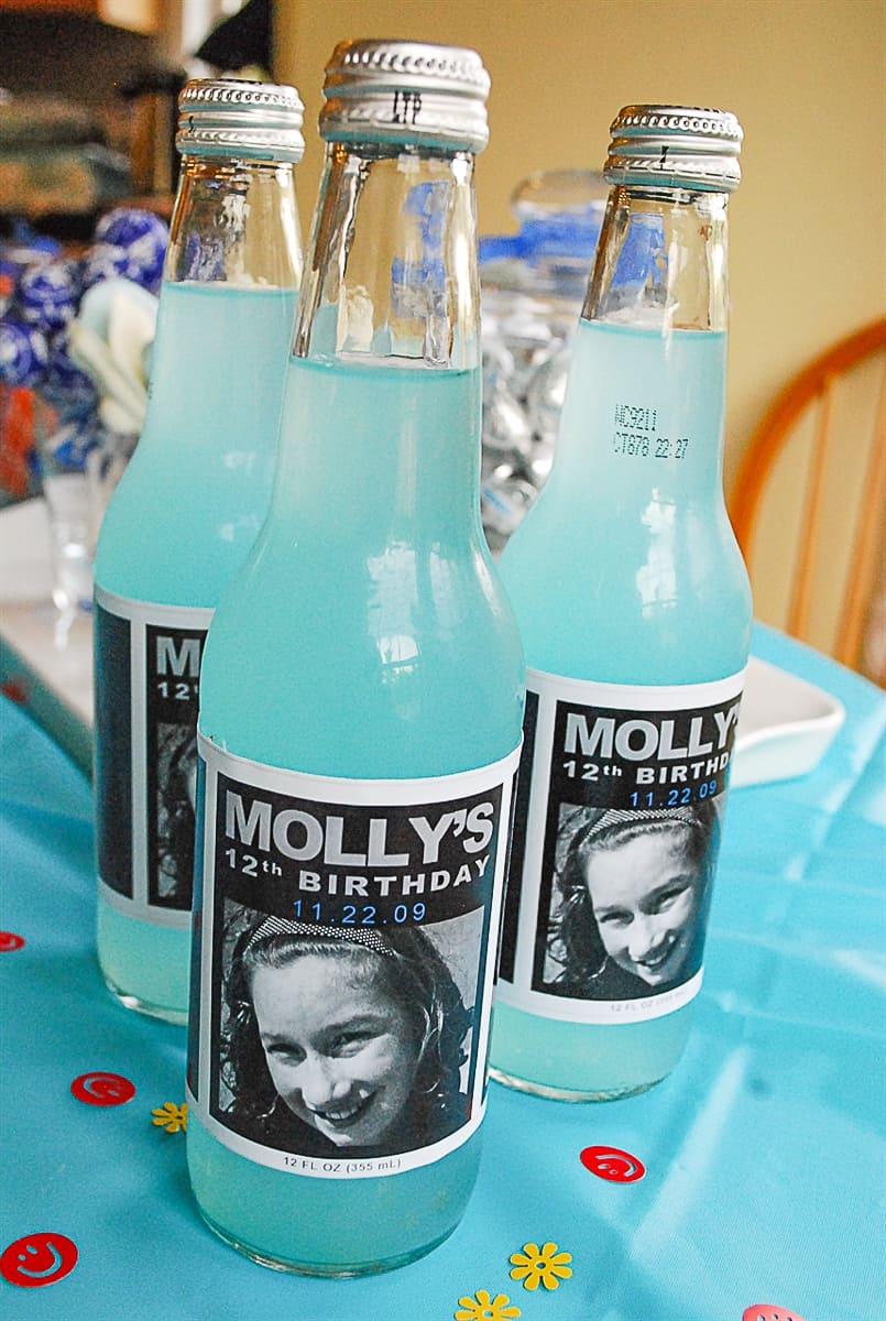 personalized soda bottles