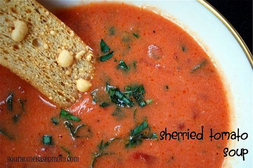 Sherried Tomato Soup:Ree & Leigh{Anne}