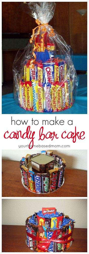 How To Make A Candy Bar Cake Your Homebased Mom