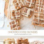Snickerdoodle BLondie