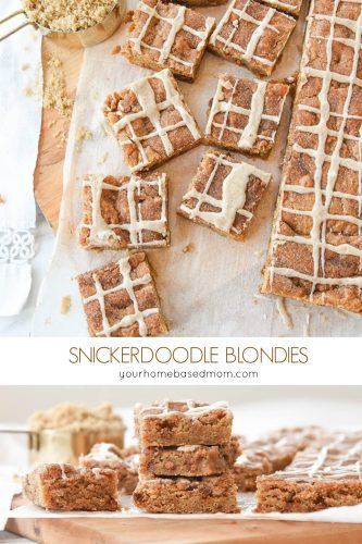 Snickerdoodle BLondie