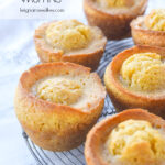 marmalade muffins on a cooling rack