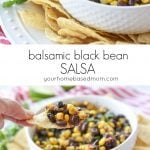 Balsamic Black Bean Salsa C