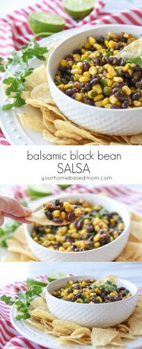 Balsamic Black Bean Salsa C