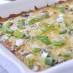 Enchilada Casserole makes dinner planning so easy!