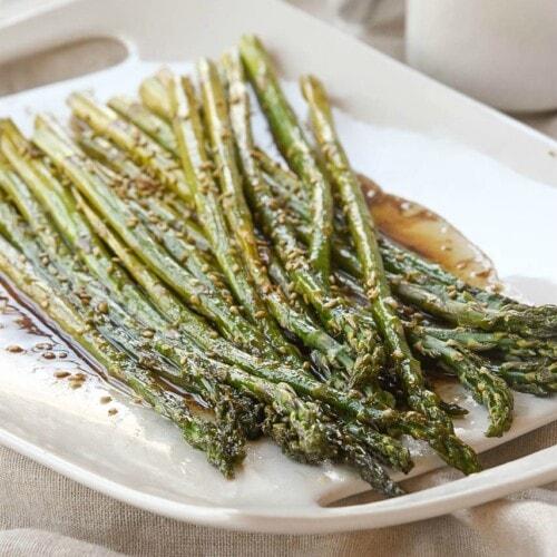 Roasted Balsamic Asparagus