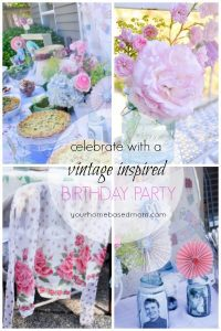 VIntage BIrthday Party