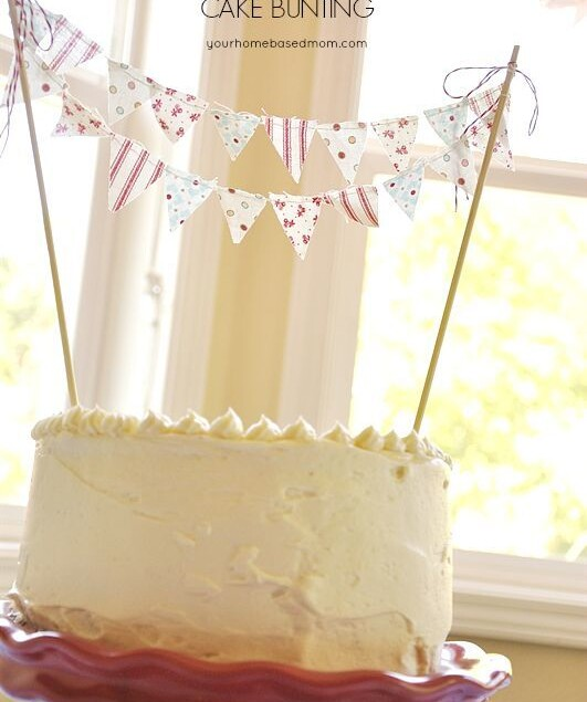 Make your Own Cake Bunting in minutes!