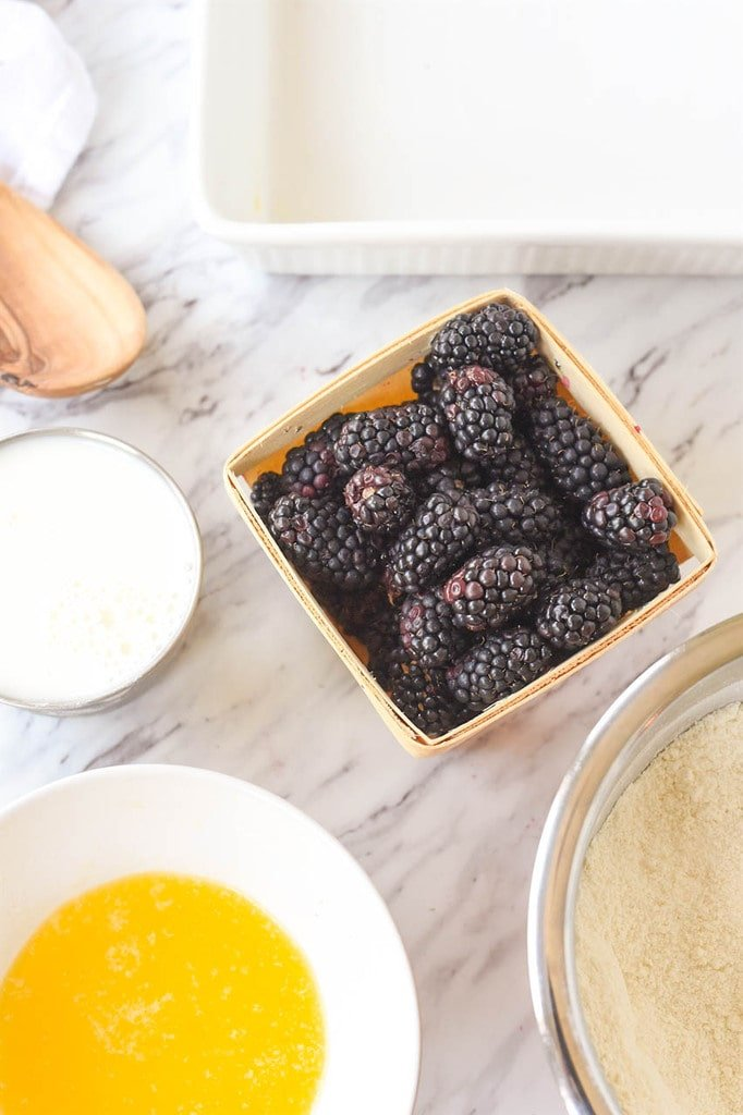 marionberry cobbler ingredients