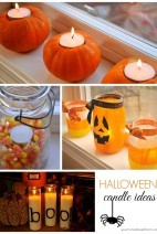 Halloween Candle Ideas