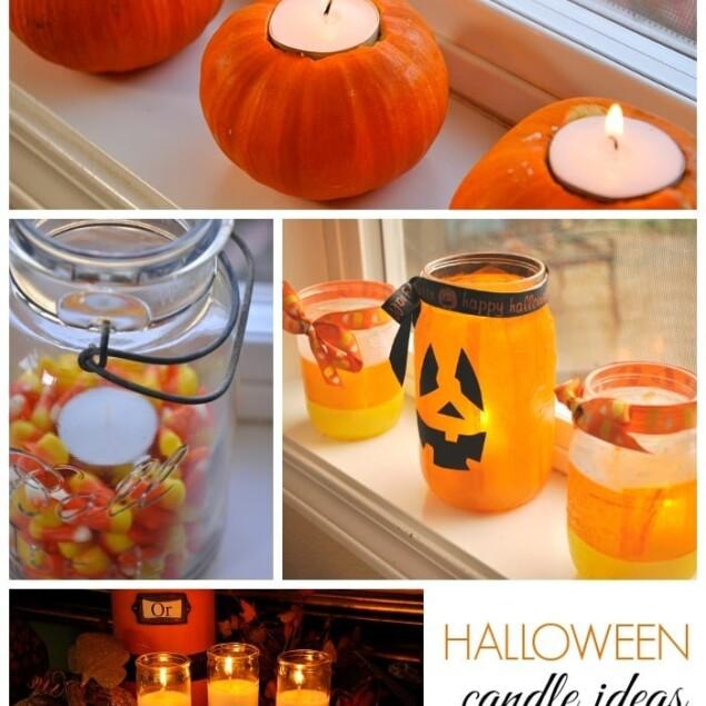 cute halloween candle ideas