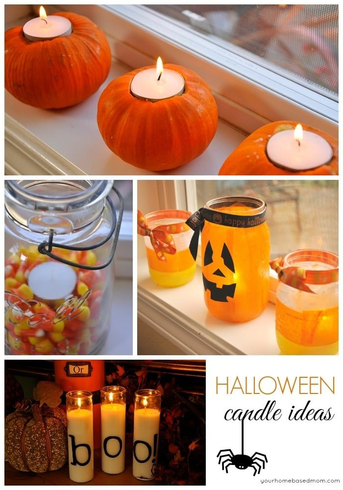 Cute Halloween Candle Ideas By Leigh Anne Wilkes