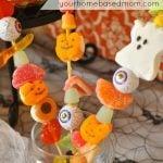 candy skewers in a jar
